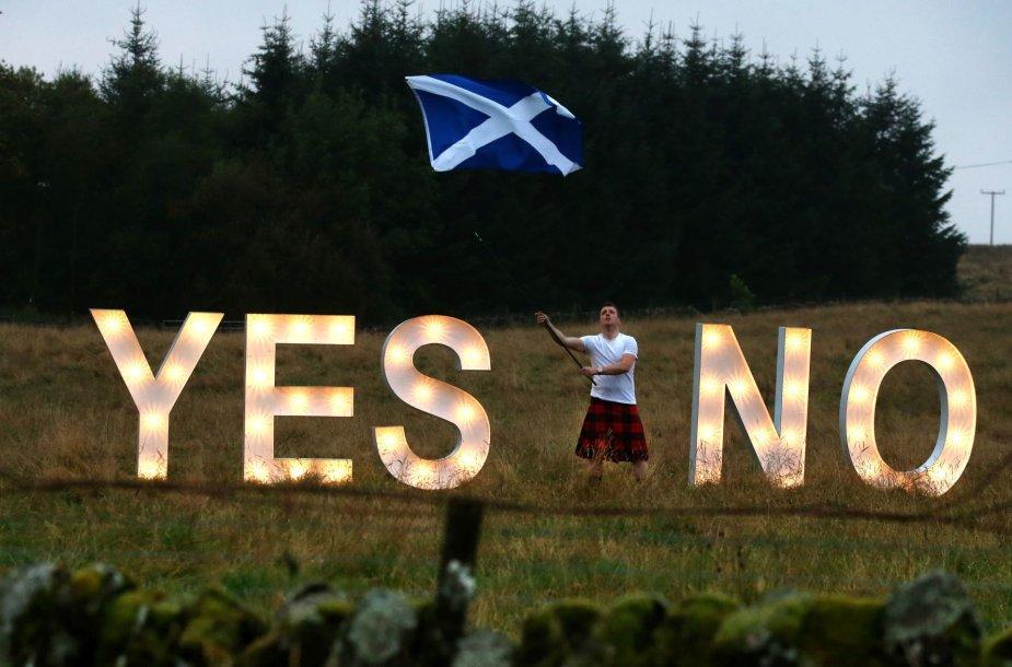 Škotijos referendumas