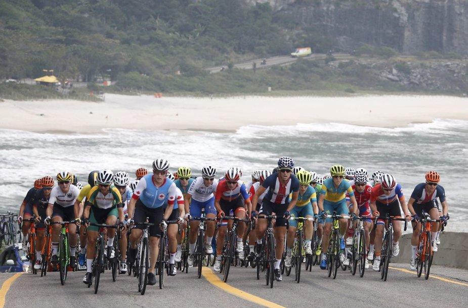 Moterų grupinės dviračių lenktynės