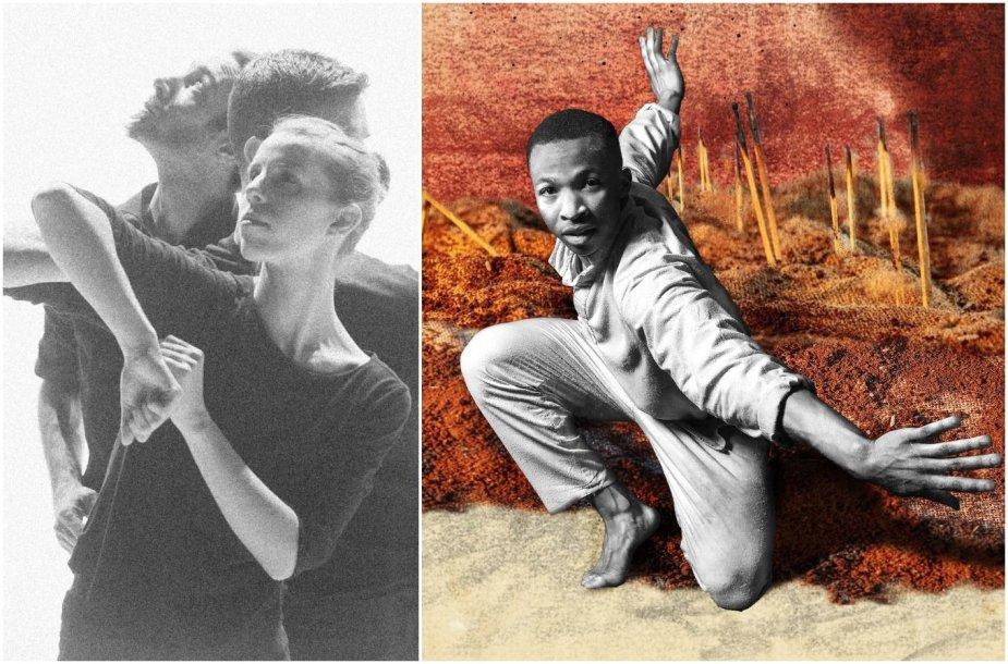 """""""Naujasis Baltijos šokis '20"""": spektaklių """"Opus"""" ir """"Chotto Xenos"""" fragmentai"""