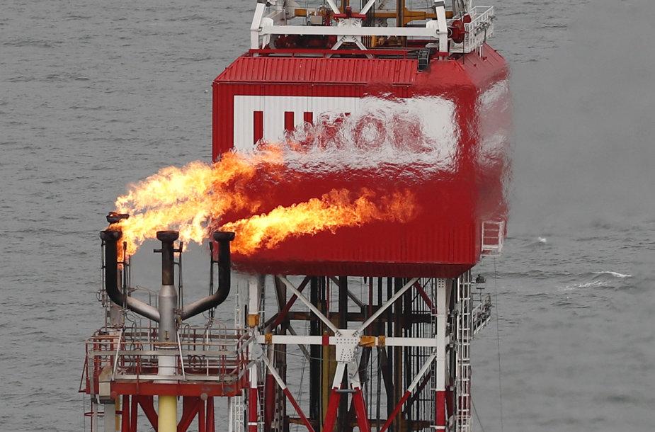 """Lukoil"" naftos platforma"