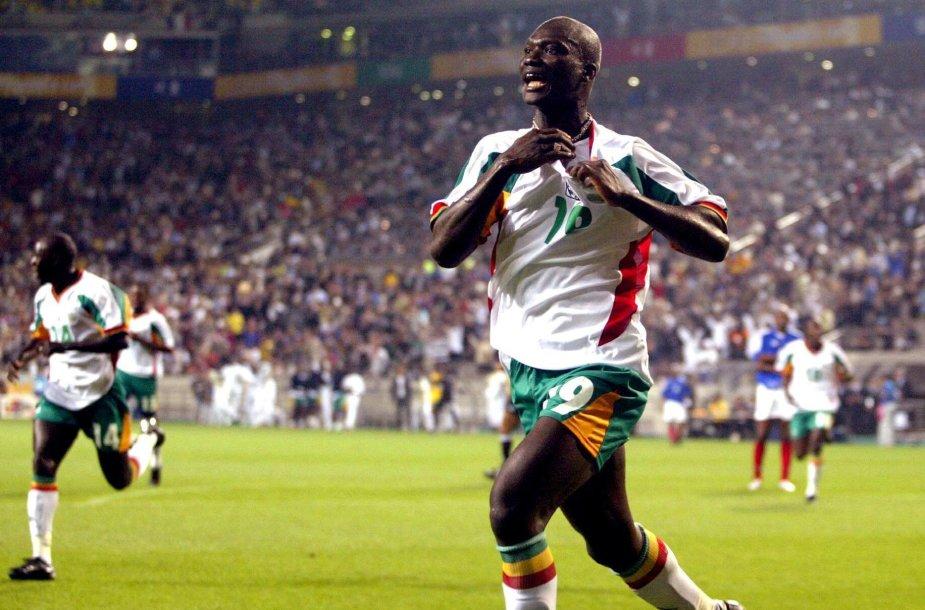 Papa Bouba Diopas 2002 m. pasaulio futbolo čempionate