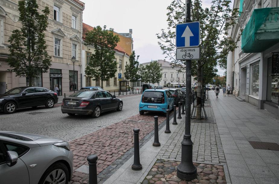 Eismo pakeitimai Vilniaus senamiestyje