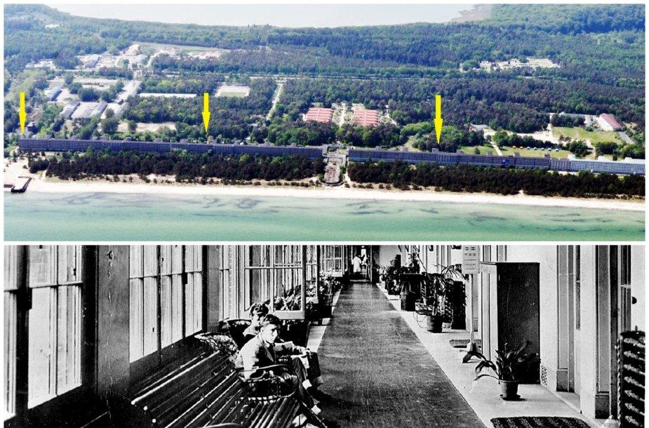 Prora – buvęs nacių kurortas; ir Netley ligoninė Anglijoje
