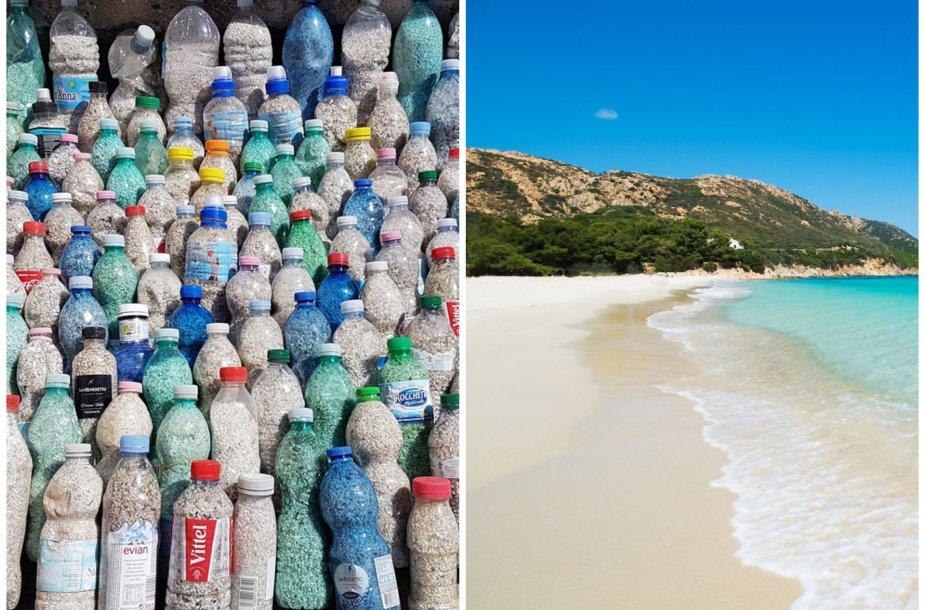 Turistai pamėgę namo pasiimti Sardinijos smėlio