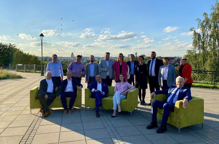 Vilniuje rinkėjams prisistatė Liberalų Sąjūdžio kandidantai į Seimą vienmandatėse apygardose