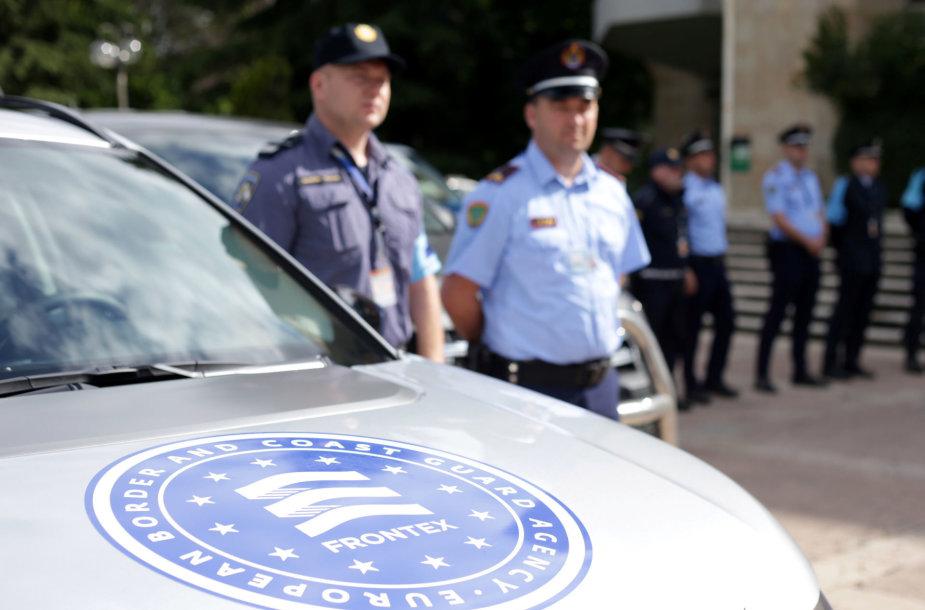 FRONTEX pareigūnai