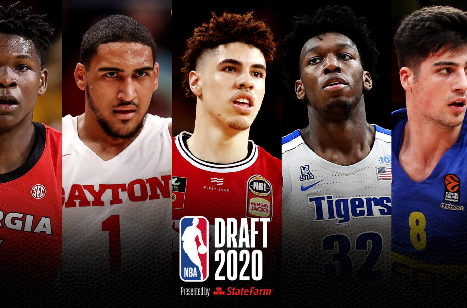NBA naujokų birža