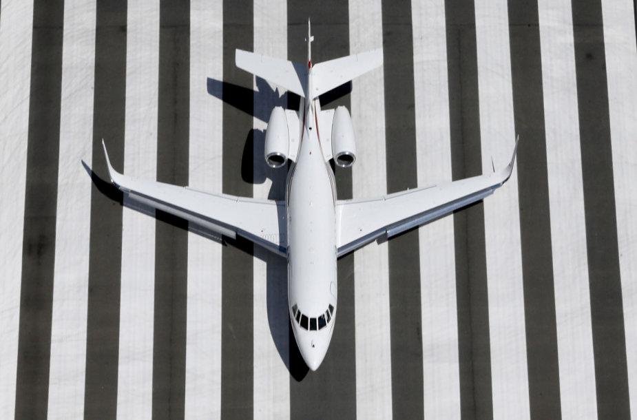 "Lėktuvas ""Learjet"""