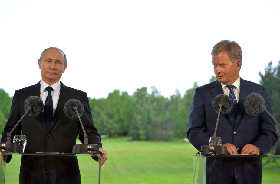 Vladimiras Putinas ir Sauli Niinisto