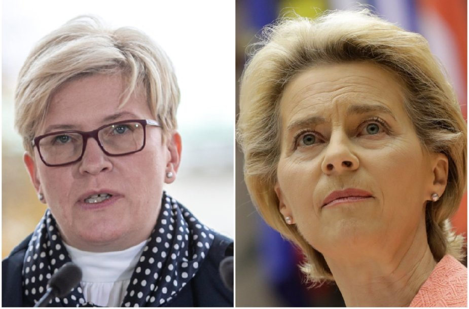 Ingrida Šimonytė, Ursula von der Leyen