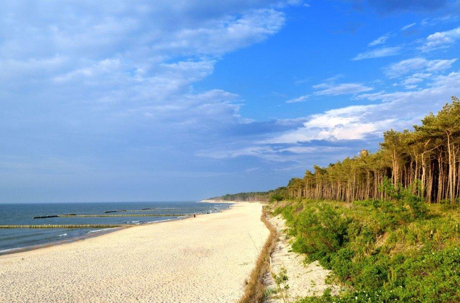 Paplūdimys Lenkijoje