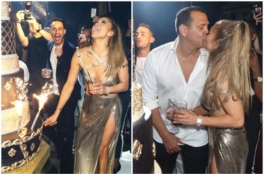 Jennifer Lopez atšventė 50-ies metų gimtadienį