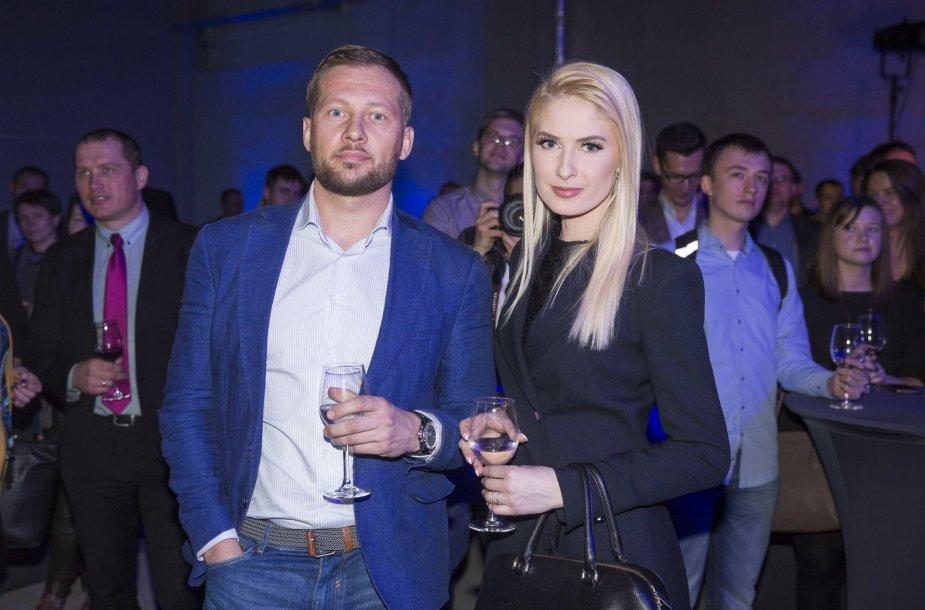 Kristina Ivanova su draugu Justinu