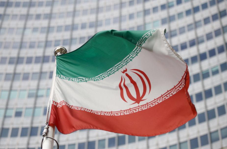 Irano vėliava