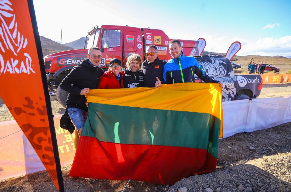 Tomas Tumalovičius Dakaro ralyje