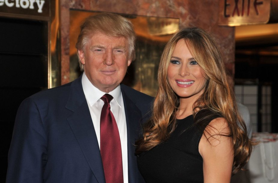 Donaldas Trumpas ir Melania Trump (2009 m.)