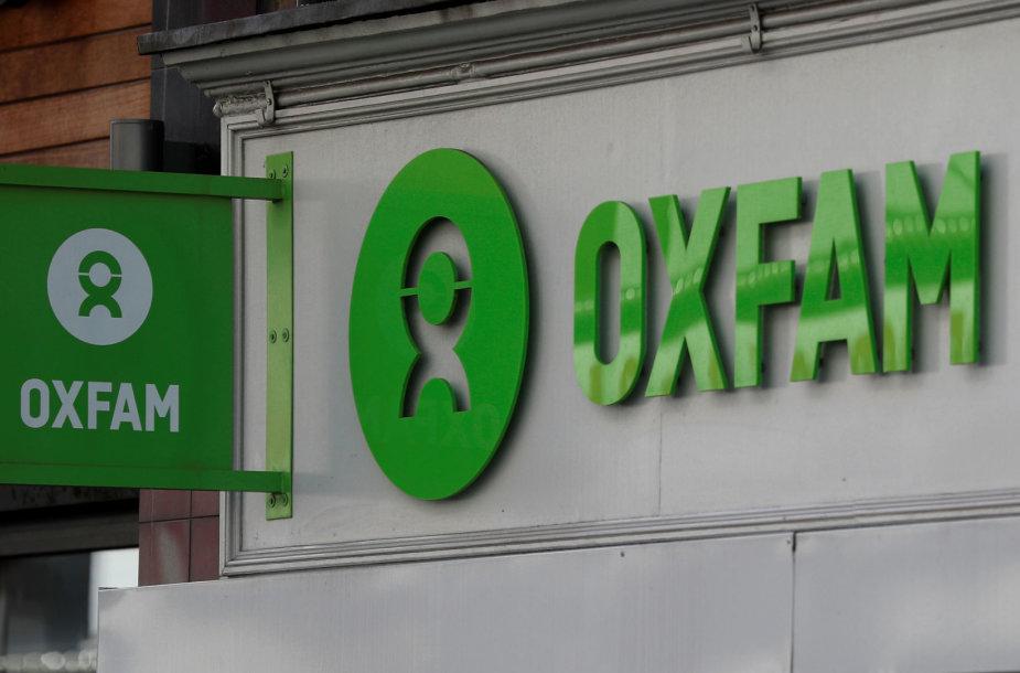 """""""Oxfam"""" labdaros parduotuvė Londone"""
