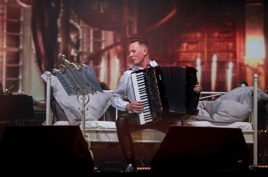 Martyno Levickio koncertas Klaipėdoje