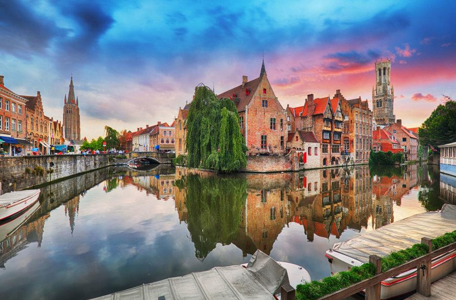Briugė, Belgija – draugiškiausias Europos miestas