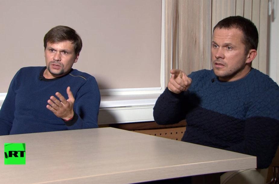Anatolijus Čepiga (kairėje) ir Aleksandras Miškinas