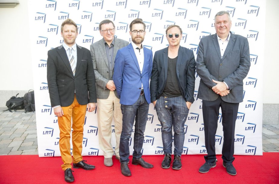 Balys Latėnas, Vytautas Šerėnas, Timūras Augucevičius, Aistis Mickevičius ir Haroldas Mackevičius