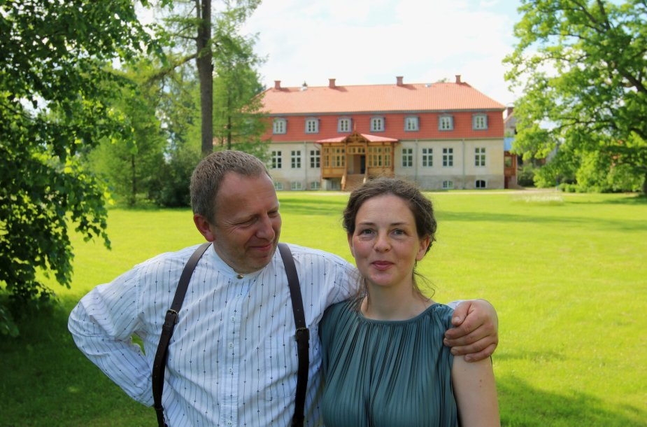 Olerių dvaras Latvijoje