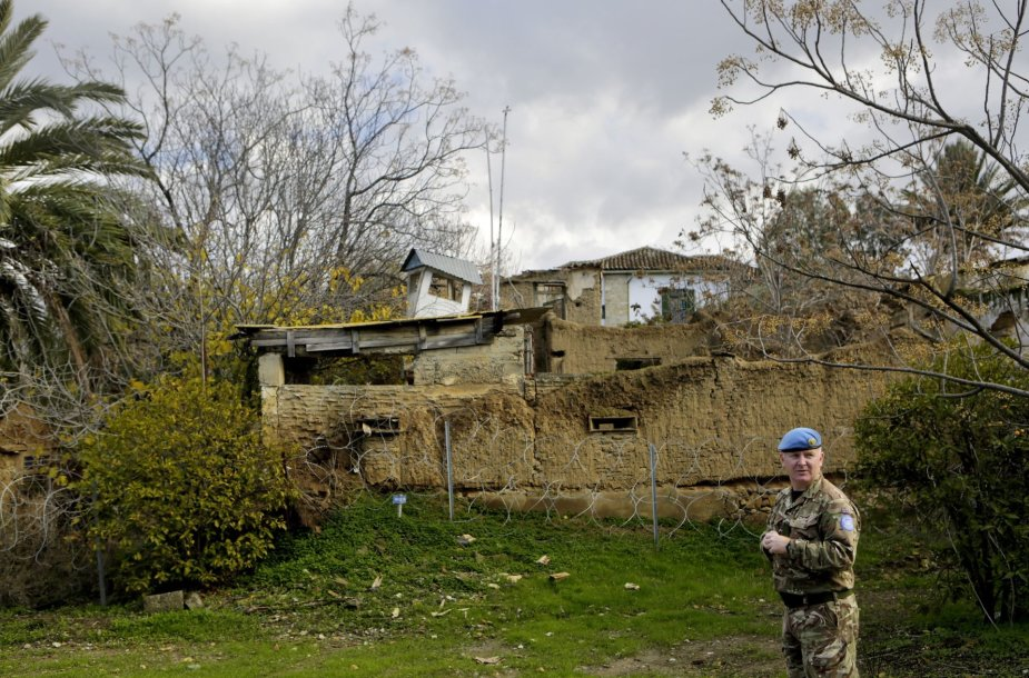 Apleista Jungtinių Tautų valdoma buferinė zona Kipre