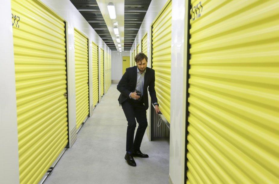 Lietuvoje atidarytas pirmasis daiktų saugojimo centras – paslaugą įpirks ir studentai