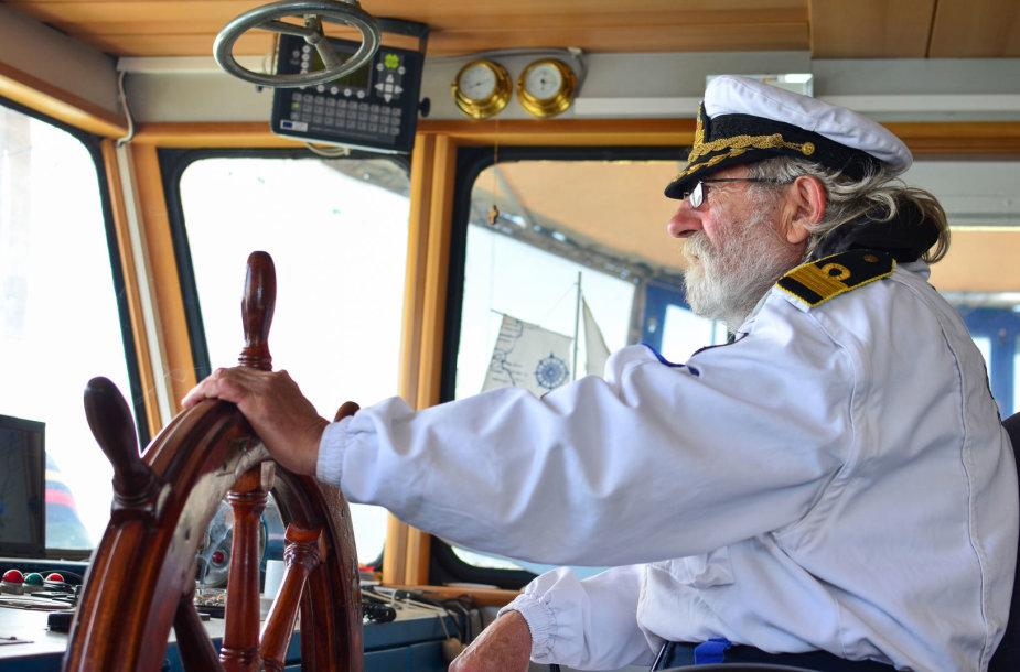 Laivo kapitonas