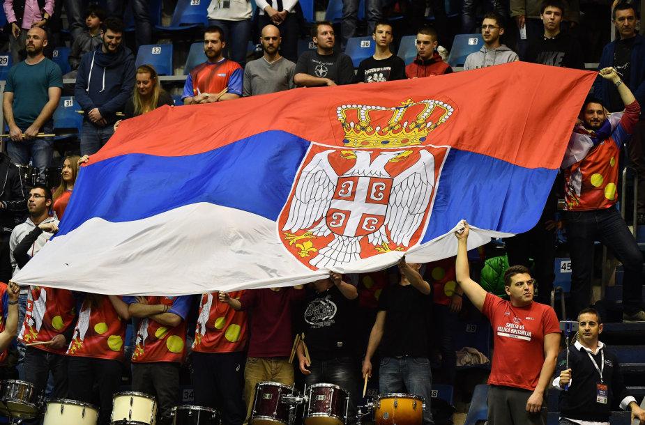 Serbijos teniso rinktinės aistruoliai