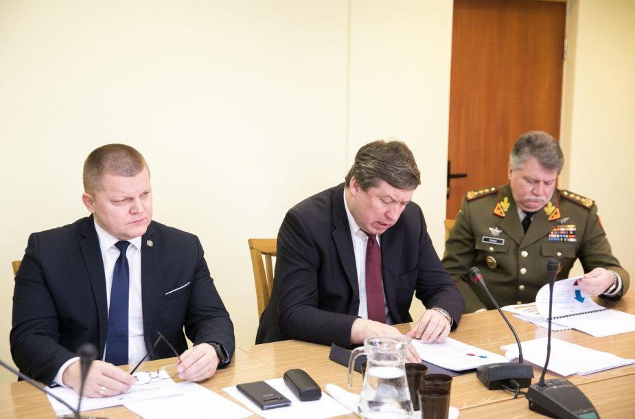 Dainius Gaižauskas, Raimundas Karoblis ir Vytautas Jonas Žukas