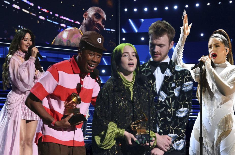 """62-ųjų """"Grammy"""" apdovanojimų ceremonijos akimirkos"""