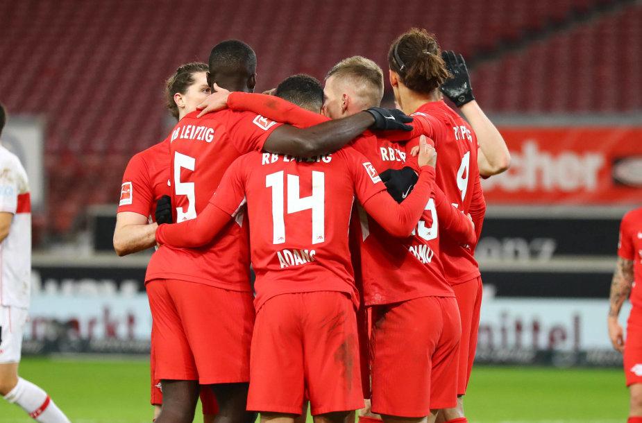"""""""RB Leipzig"""" futbolininkai"""