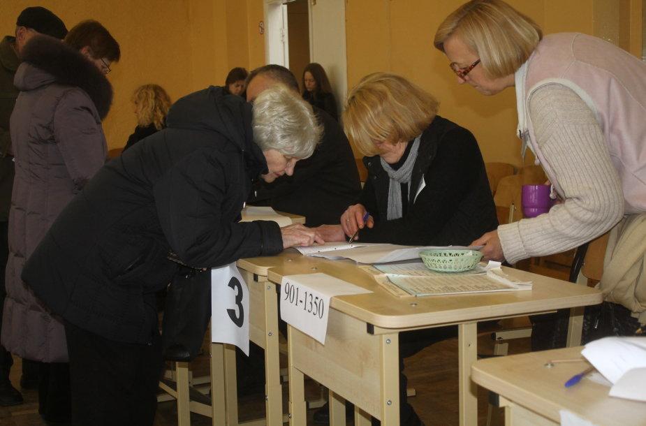 Rinkimai Panevėžio mieste