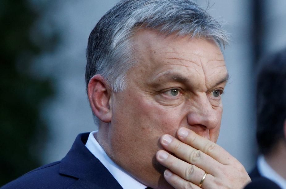 Viktoras Orbanas Vokietijoje