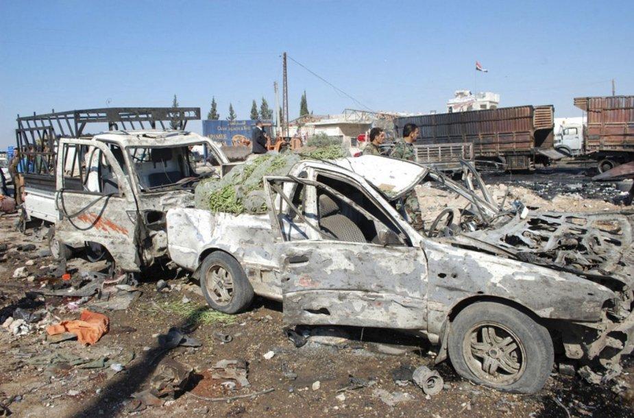 Smurtas Sirijoje