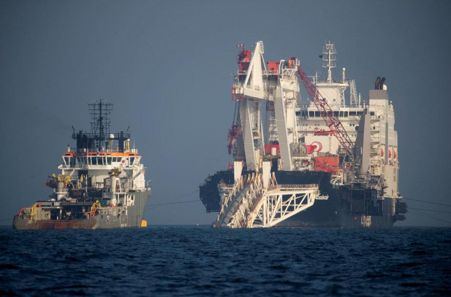 """Tiesiamas dujotiekis """"Nord Stream 2"""""""