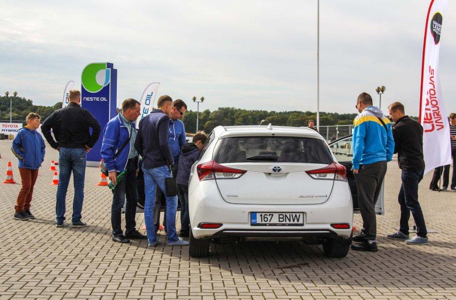 Geriausio Lietuvos vairuotojo konkursas Klaipėdoje