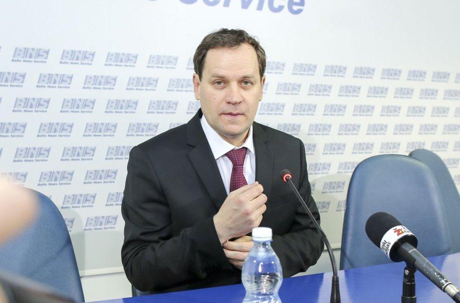 Valdemaras Tomaševskis džiaugiasi rinkimų rezultatais