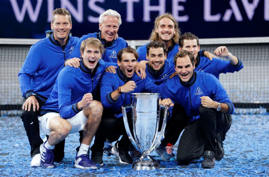 """Laver Cup"" laimėjo Europos komanda"
