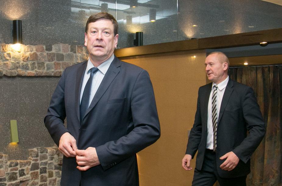 Valentinas Bukauskas ir Petras Čimbaras