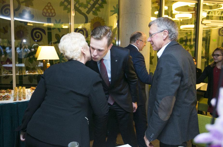 Irena Degutienė, Gabrielius Landsbergis ir Kęstutis Masiulis