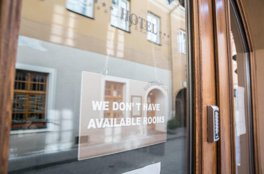 Laikinai sustojęs verslas Vilniuje