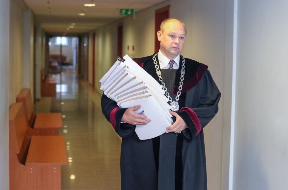 Vilniaus miesto apylinkės teismo teisėjas Mindaugas Striaukas