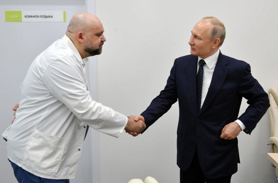 Denisas Procenka ir Vladimiras Putinas