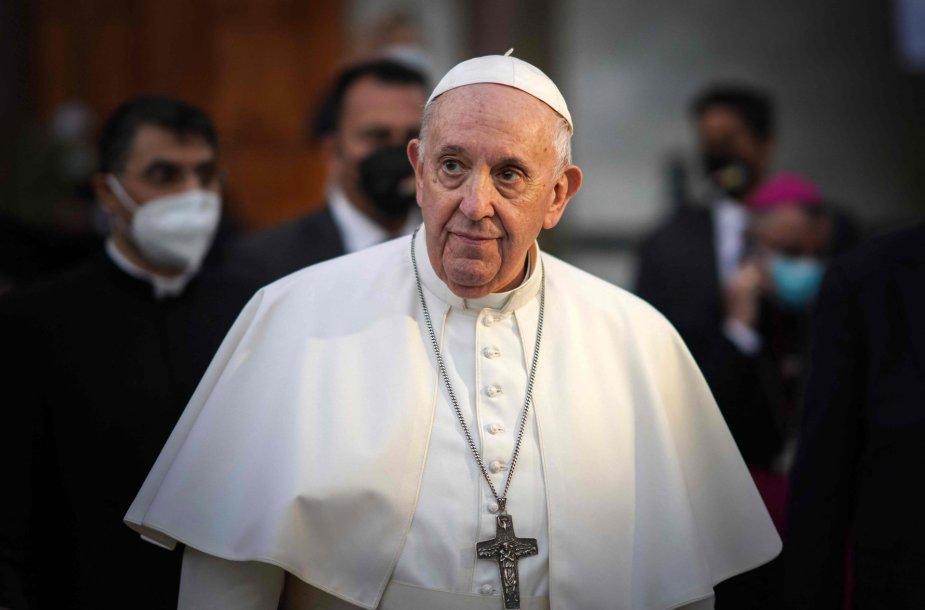 Popiežius Pranciškus Bagdade