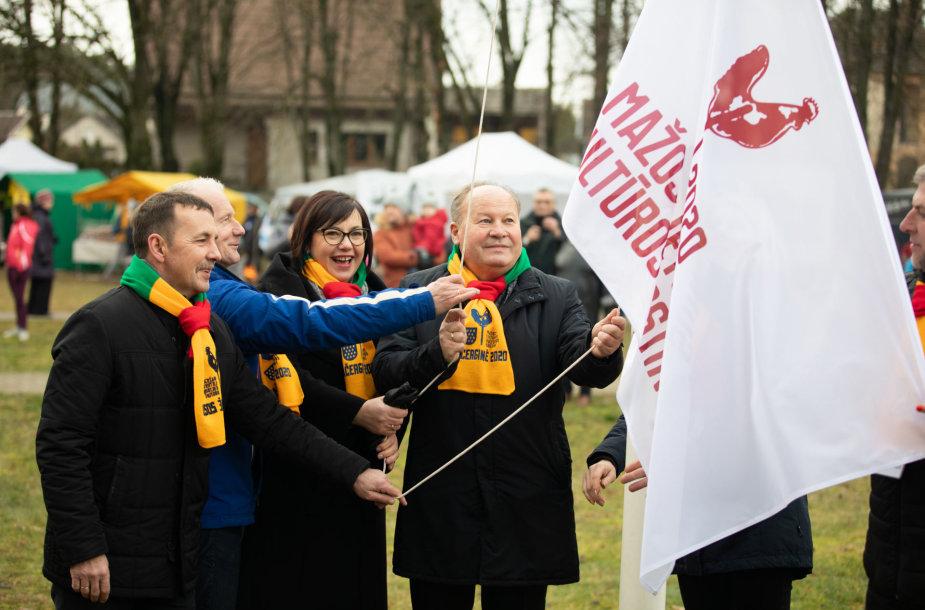 Mažosios kultūros sostinės atidarymo renginys Kačerginėje