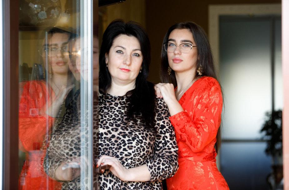 Oksana Šimonienė ir jos dukra Ligita Kazlauskienė