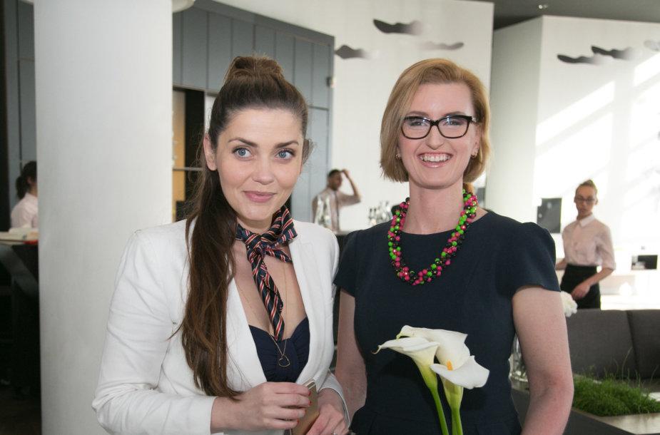 Eglė Skrolytė ir Vaida Kurpienė