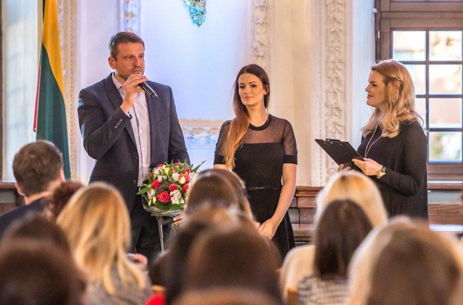 Mingailė Kalnietė ir Rimantė Kulvinskytė